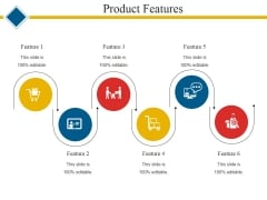 Product Features Template 1 Ppt PowerPoint Presentation Outline Example