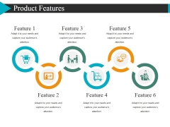 Product Features Template 1 Ppt PowerPoint Presentation Portfolio Graphics