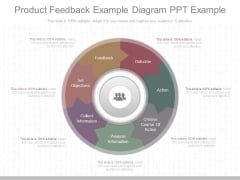 Product Feedback Example Diagram Ppt Example