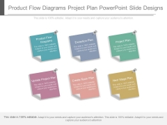 Product Flow Diagrams Project Plan Powerpoint Slide Designs