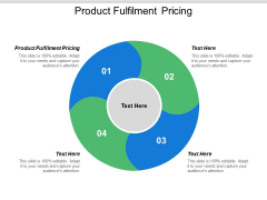 Product Fulfilment Pricing Ppt PowerPoint Presentation Icon Vector Cpb