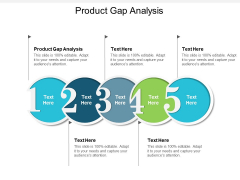 Product Gap Analysis Ppt PowerPoint Presentation Infographic Template Slide Portrait Cpb