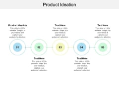 Product Ideation Ppt PowerPoint Presentation Infographics Graphics Tutorials Cpb