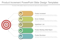 Product Increment Powerpoint Slide Design Templates