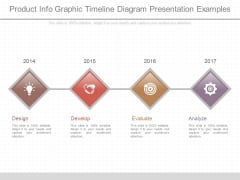 Product Info Graphic Timeline Diagram Presentation Examples