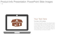 Product Info Presentation Powerpoint Slide Images