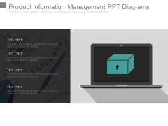 Product Information Management Ppt Diagrams