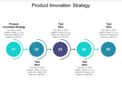 Product Innovation Strategy Ppt PowerPoint Presentation Professional Master Slide Cpb