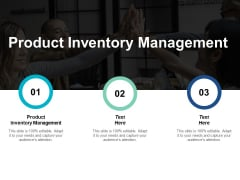 Product Inventory Management Ppt PowerPoint Presentation Styles Guidelines Cpb