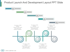 Product Launch And Development Layout Ppt Slide