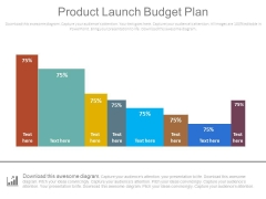 Product Launch Budget Plan Bar Graph Ppt Slides