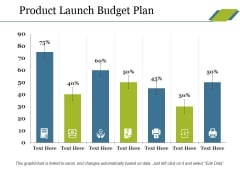 Product Launch Budget Plan Ppt PowerPoint Presentation Icon Slide