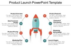 Product Launch Free PowerPoint Template