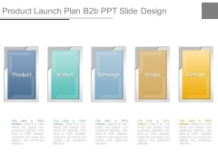 Product Launch Plan B2b Ppt Slide Design