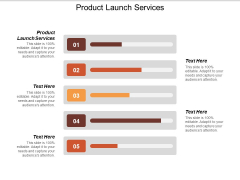Product Launch Services Ppt PowerPoint Presentation Inspiration Clipart Images