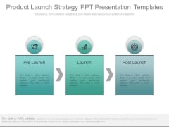 Product Launch Strategy Ppt Presentation Templates