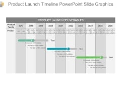 Product Launch Timeline Powerpoint Slide Graphics