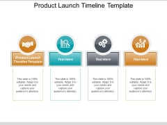 Product Launch Timeline Template Ppt PowerPoint Presentation Professional Designs Download Cpb
