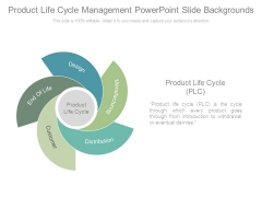 Product Life Cycle Management Powerpoint Slide Backgrounds