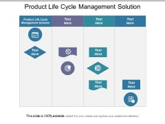 Product Life Cycle Management Solution Ppt PowerPoint Presentation Show Influencers