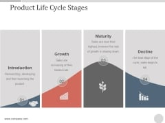 Product Life Cycle Stages Ppt PowerPoint Presentation Diagrams