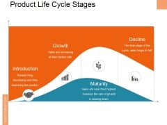 Product Life Cycle Stages Ppt PowerPoint Presentation Professional Background