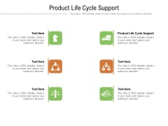 Product Life Cycle Support Ppt PowerPoint Presentation Model Show Cpb Pdf