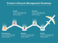 Product Lifecycle Management Roadmap Ppt PowerPoint Presentation Pictures Slideshow PDF