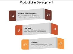 Product Line Development Ppt PowerPoint Presentation Model Slide