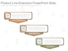 Product Line Extension Powerpoint Slide