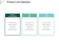 Product Line Extension Ppt PowerPoint Presentation Infographics Skills Cpb