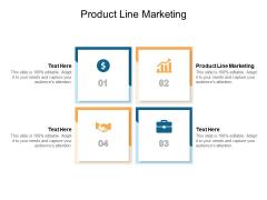 Product Line Marketing Ppt PowerPoint Presentation Outline Ideas Cpb