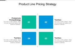 Product Line Pricing Strategy Ppt PowerPoint Presentation Portfolio Good Cpb
