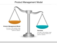 Product Management Model Ppt PowerPoint Presentation Ideas Introduction Cpb