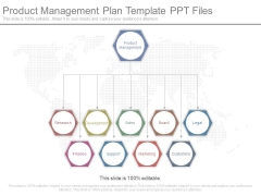 Product Management Plan Template Ppt Files