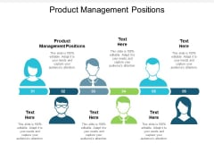 Product Management Positions Ppt PowerPoint Presentation Model Layout Ideas Cpb