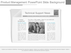 Product Management Powerpoint Slide Background