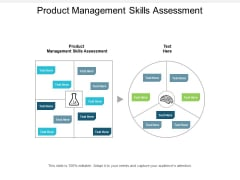 Product Management Skills Assessment Ppt PowerPoint Presentation Icon Summary Cpb