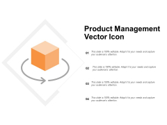 Product Management Vector Icon Ppt PowerPoint Presentation Gallery Themes