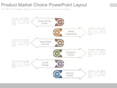 Product Market Choice Powerpoint Layout