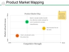 Product Market Mapping Ppt PowerPoint Presentation Infographics Infographics