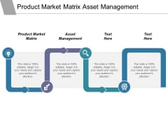 Product Market Matrix Asset Management Ppt PowerPoint Presentation Infographics Examples