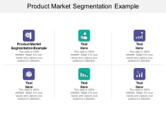 Product Market Segmentation Example Ppt PowerPoint Presentation Template Cpb