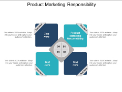 Product Marketing Responsibility Ppt PowerPoint Presentation Summary Maker Cpb