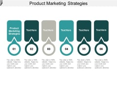 Product Marketing Strategies Ppt PowerPoint Presentation Show Designs Cpb