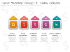 Product Marketing Strategy Ppt Slides Examples