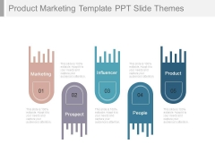 Product Marketing Template Ppt Slide Themes