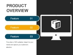 Product Overview Ppt PowerPoint Presentation Show