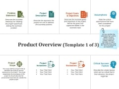 Product Overview Template 1 Ppt PowerPoint Presentation Pictures Files