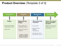 Product Overview Template 2 Ppt PowerPoint Presentation Summary Visual Aids
